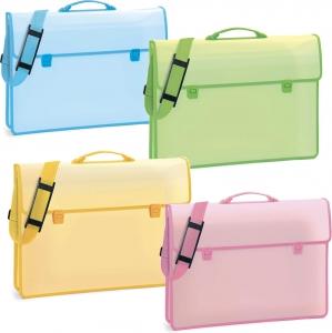 Cartelletta porta disegni colori pastello