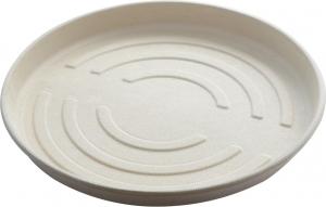 piatto porta pizza ideale per l'asporto e il take away in bagassa compostabile e biodegradabile ingrosso b2b online