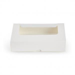 Scatola Porta Toast con Finestra bianca per delivery, take away e asporto - vendita all'ingrosso b2b online incartare