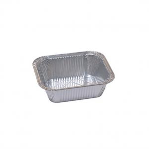 Contenitore rettangolare in alluminio per alimenti marchio cuki per cibo delivery e take away | Incartare ingrosso online b2b