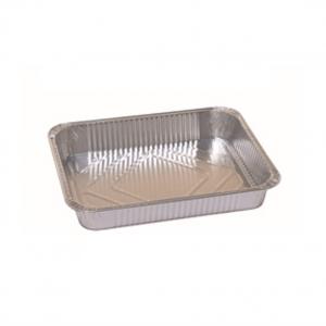 Vaschette CUKI in alluminio riciclabile formato 4 porzioni per alimenti delivery e take away - Vendita ingrosso online