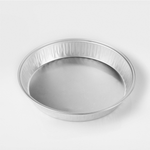 tortiera in alluminio extra rigido formato diametro 218 per asporto e conservazione dei cibi - ingrosso b2b online