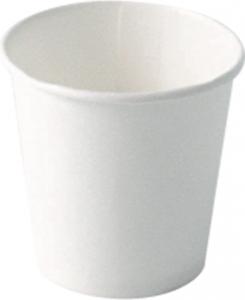 Bicchieri in cartoncino bianco - confezione 100 pezzi