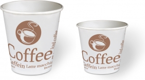 Bicchieri Paper in Cartoncino Fantasia Coffee (50 pezzi) - Vendita online all'ingrosso b2b
