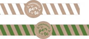 Etichetta Lunga Linea Preparato per Te - Vendita online all'ingrosso b2b