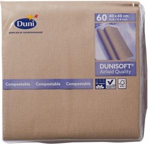 Tovaglioli Ecoecho Duni Soft per Ristorante (60 pezzi) - vendita online all'ingrosso b2b