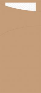 Portaposate in Carta Avana con Tovagliolo (100 pezzi) ingrosso b2b