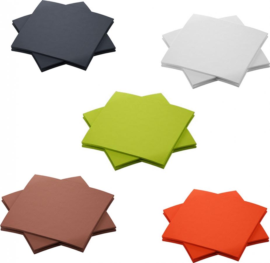 Tovaglioli colorati dunisoft professionali (180 pezzi) - vendita online all'ingrosso - GRUPPO