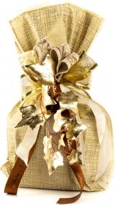 Buste gold net etoffe patisserie color avorio. Confezione da 10 pezzi- Vendita all'ingrosso e online