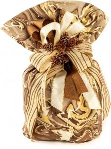 Bobina in polipropilene marble color marrone. Vendita all'ingrosso e online