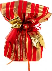 Carta in polipropilene stria color oro, disponibile in foglie e a bobine. Vendita all'ingrosso e online