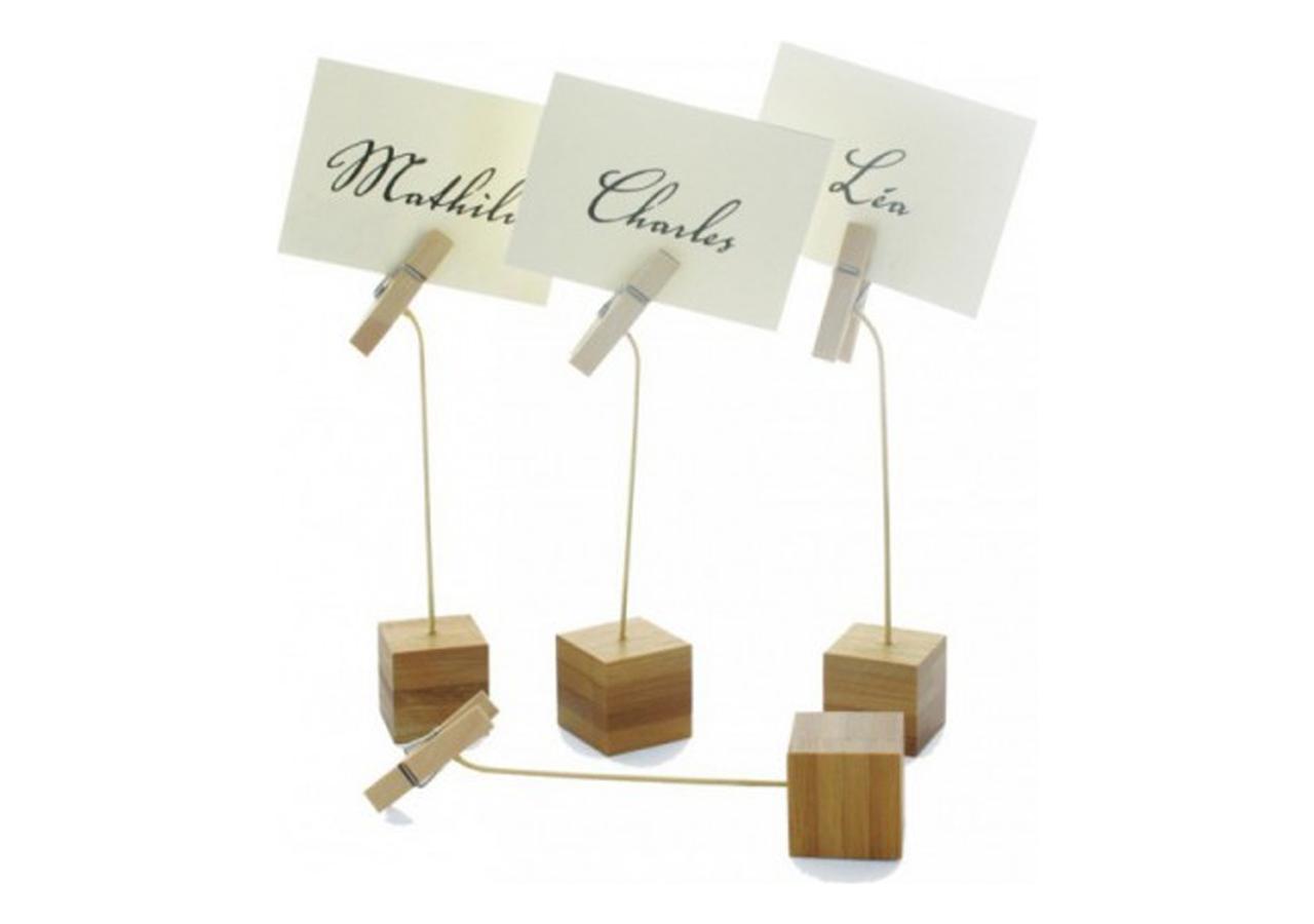 Porta etichette in Bambù (12 pezzi)