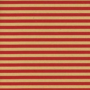 Carta paglia a righe rosse, disponibile in bobina e a fogli da 25 pezzi. Vendita all'ingrosso e online