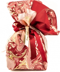 Bobina in polipropilene marble colore bordeaux. vendita all'ingrosso e online