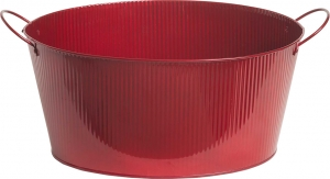 Spumantiera Rossa Ovale in Latta Vendita online all'ingrosso