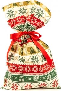 Buste regalo Xmas knit in confezione da 50 pezzi-Vendita all'ingrosso e online