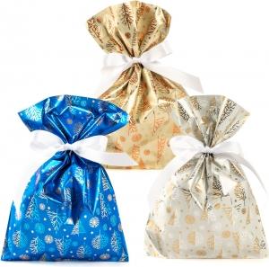 Buste da regalo golden tree in confezione da 50 pezzi. Disponibile in blu, bianco e oro. Vendita all'ingrosso e online