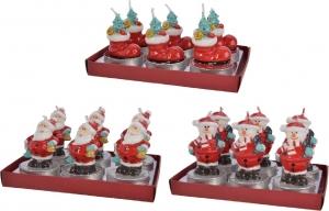 Tea light natalizie (6 pezzi)