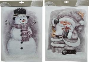 Stickers santa effetto frozen
