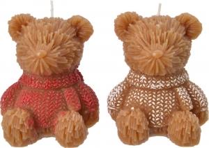 Candela a forma di orsetto