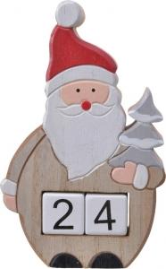 Calendario dell'avvento santa claus