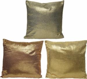 Cuscino in velluto effetto metal