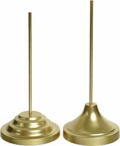 Puntale dorato per albero di natale