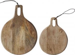 Tagliere duko in legno tondo