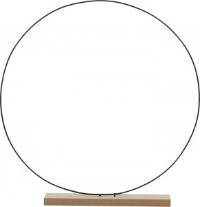 Cerchio decorativo 40cm con base di appoggio