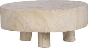 Supporto tondo in legno naturale 20cm
