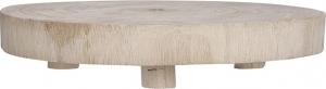 Supporto tondo in legno naturale 30cm