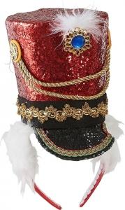 Cerchietto con cappello e diadema