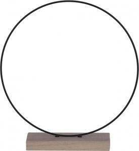 Cerchio decorativo 30cm con base