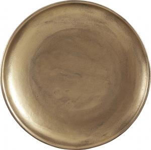 Piatto decorativo dorato 40cm