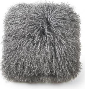 Cuscino mongolia grigio