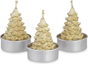 Tea-light albero (6 pezzi)