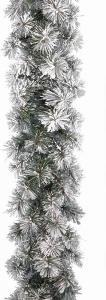 Festone needle pine innevato