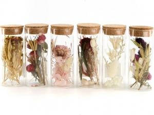 Provetta fiori secchi