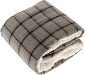 Coperta bingley scozzese tortora