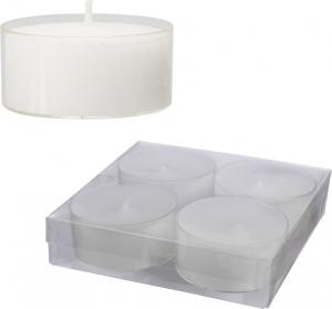 Tealight trasparenti (4 pezzi)