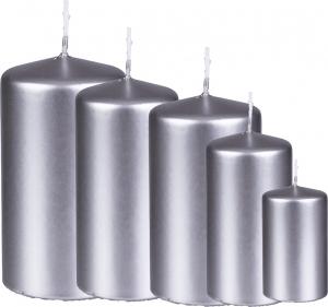 candele argentate