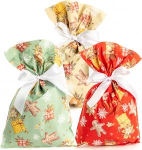 Buste regalo zenzy, disponibile in ecrù, roso e verde. Vendita all'ingrosso e online