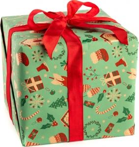 Carta da regalo natura con soggetti natalizi, confezione da 25 fogli. vendita all'ingrosso e online