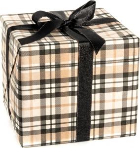 Carta velina da regalo fantasia plaid in confezione da 25 fogli