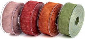 Nastro in tessuto canvas lamè, disponibile in più colori. Vendita all'ingrosso e online