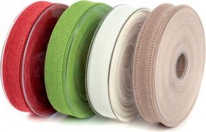 Nastro in tessuto Canvas, disponibile in diversi colori in due altezze. Vendita all'ingrosso e online