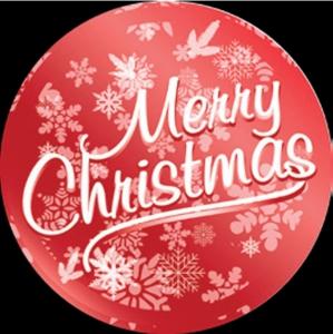 Etichette Merry Christmas in confezione da 10 pezzi. Vendita all'ingrosso e online