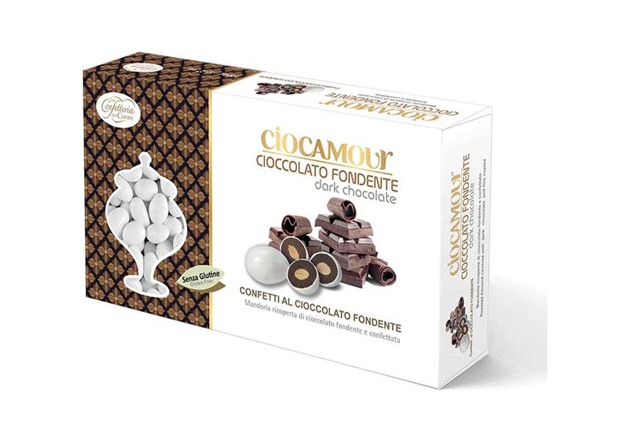 Confetti Ciocamour Cioccolato Fondente - Vendita online all'ingrosso new pack