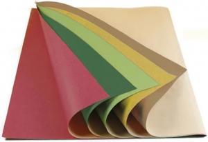 Carta da Pacco Colorata su Base Avana in Fogli (25 fogli) - Vendita online all'ingrosso b2b