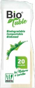 Cucchiaini Biodegradabili BioTable (20 Pezzi) - Vendita online all'ingrosso